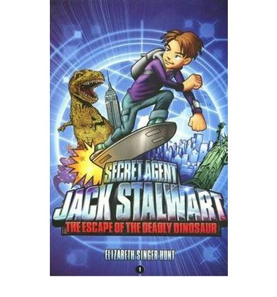 Secret Agent Jack Stalwart: Book 1: the Escape of the Deadly Dinosaur: USA :