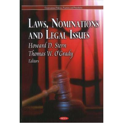 Laws Nominations Legal Issues Howard Stern