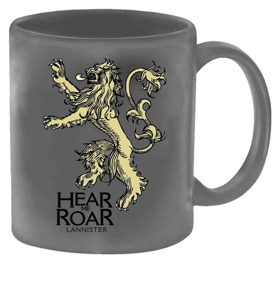 Game of Thrones Lannister Sigil Mug