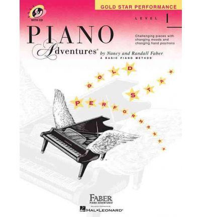 Piano Adventures, Level 1, Gold Star Performance