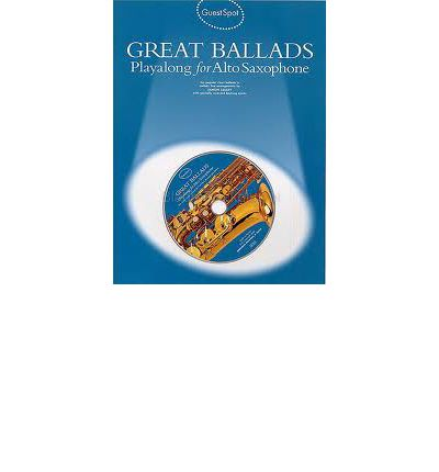 Ebooks for iphone Guest Spot : Great Ballads Playalong for Alto Saxophone iBook 9781844492992