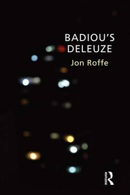 GoodReads e-Books collections Badious Deleuze by Jon Roffe PDF
