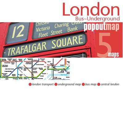 London Bus/underground PopOut Map