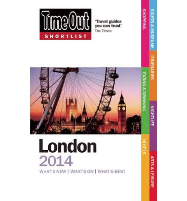 Time Out Shortlist London 2014