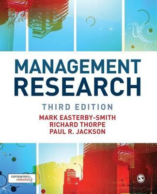 Management Research: Theory and Practice