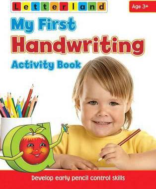 My First Handwriting Activity Book: Develop Early Pencil Control Skills