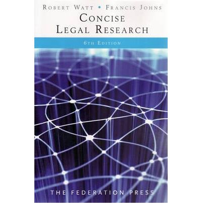 Concise Legal Research