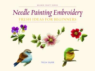 Needle Painting Embroidery Fresh Ideas