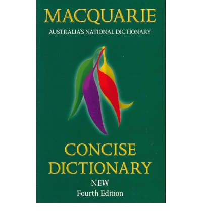 macquarie concise dictionary 6th edition