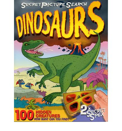 Secret Picture Search Dinosaurs: 100 Hidden Creatures - How Many Can You Find?