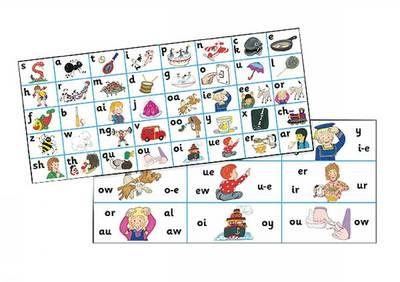 Jolly Phonics Letter Sound Strips (pack of 30 Strips)