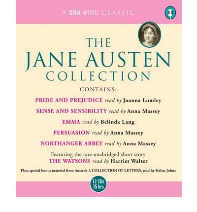 "The Jane Austen Collection: ""Sense and Sensibility"", ""Pride and Prejudice"", ""Emma"", ""Northanger Abbey"", ""Persuasion"" AND ""The Watsons"" (Unabridged)"