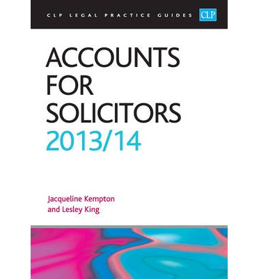 Accounts for Solicitors 2012/2013