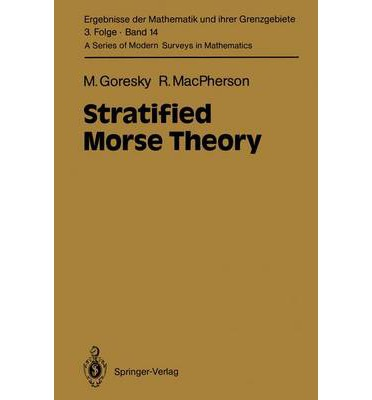 Download ebooks free Stratified Morse Theory 3540173005 PDF