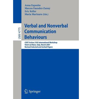 Verbal and Nonverbal Communication Behaviours