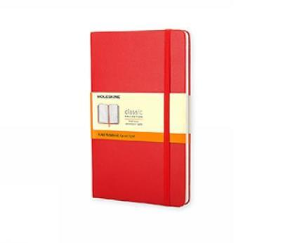 Moleskine Large Ruled Notebook Red