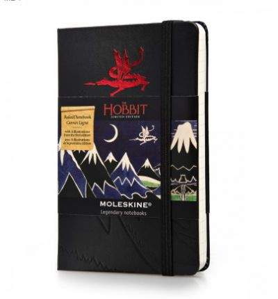 Moleskine the Hobbit Limited Edition Hard Ruled Pocket Notebook (2013)