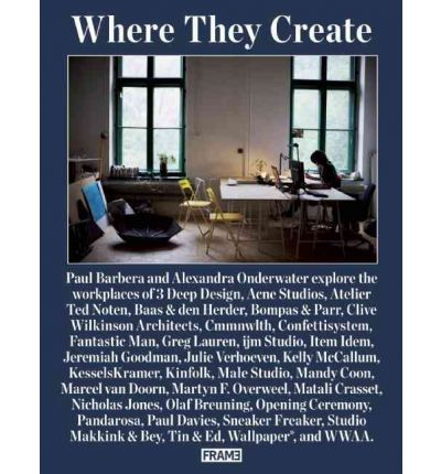 Where They Create: 32 Creative Studios Shot by Paul Barbera
