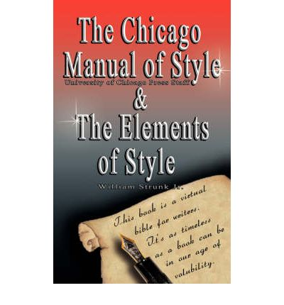 The Chicago Manual of Style/The Elements of Style