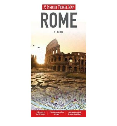 Insight Travel Maps: Rome