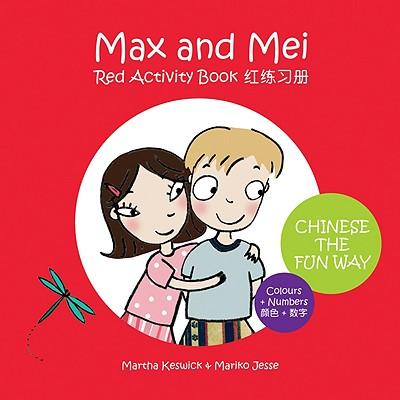 Max & Mei Red Activity Book: Colours and Numbers