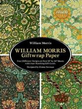 """William Morris Giftwrap Paper: 4 Different Designs on Four 18""""X24"""" Sheets With Four Matching Gift Cards"""
