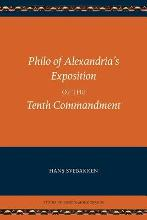 Philo of Alexandria's Exposition of the Tenth Commandment