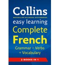 Easy Learning French Grammar, Verbs and Vocabulary (3 Books in 1)