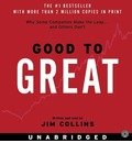 Good to Great: Why Some Companies Make the Leap...and Other's Don't