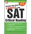 Increase Your Score in 3 Minutes a Day: Sat Critical Reading