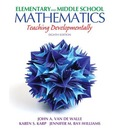 Elementary and Middle School Mathematics: Teaching Developmentally Plus MyEducationLab with Pearson EText