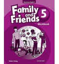 Family and Friends American Edition: 5: Workbook