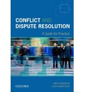 Conflict and Dispute Resolution: A Guide for Practice