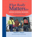 What Really Matters for Early Adolescents: From Research to Practice