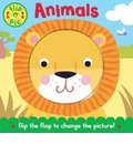 Flip-a-Pic: Animals: A Lift-the-flap Board Book