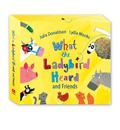 What the Ladybird Heard and Friends: What the Ladybird Heard, Sharing a Shell, the Princess and the Wizard and the Rhyming Rabbit