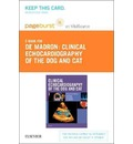 Clinical Echocardiography of the Dog and Cat - Pageburst E-Book on Vitalsource (Retail Access Card)