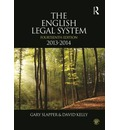 The English Legal System 2013-2014