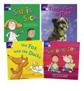 Learn at Home:Star Phonics Pack 3 (3 Fiction and 1 Non-fiction Book)