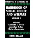 Handbook of Social Choice and Welfare: Vol 1