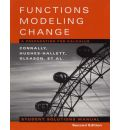Functions Modeling Change: A Preparation for Calculus