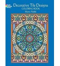 Decorative Tile Designs: Coloring Book