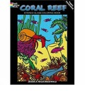 Coral Reef Stained Glass Coloring Book