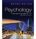 Study Guide for Weiten's Psychology: Themes and Variations, Briefer Edition