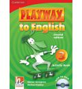 Playway to English Level 3 Activity Book with CD-ROM: Level 3