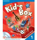 Kid's Box Level 1 Activity Book with CD-ROM