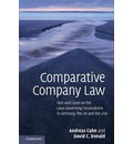 Comparative Company Law: Text and Cases on the Laws Governing Corporations in Germany, the UK and the USA