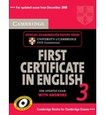 Cambridge First Certificate in English 3 for Updated Exam Student's Book with Answers: Examination Papers from University of Cambridge ESOL Examinations