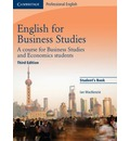 English for Business Studies Student's Book: A Course for Business Studies and Economics Students
