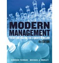 Modern Management: Theory and Practice for Students in Ireland